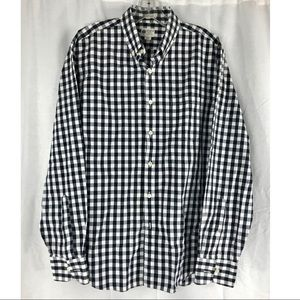 Gingham Check Button Down by J Crew - like new